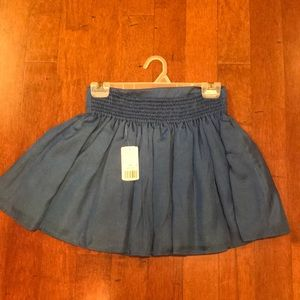 Blue party skirt
